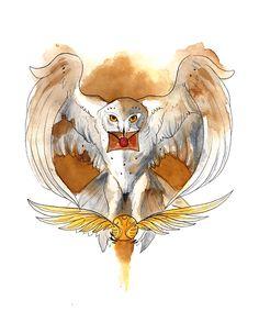Harry Potter Hedwig by RubisFirenos on DeviantArt