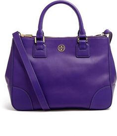 3285e8071989 Can t wait to start using my new Tory Burch Electric Purple Robinson Double  Zip Tote Bag