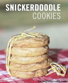 Snickerdoodle Cookies - Premeditated Leftovers