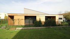 archiweb.cz - Rodinný dom CLT 10 Porches, Architecture Design, Shed, Outdoor Structures, Outdoor Decor, Architects, Home Decor, Facades, Architecture