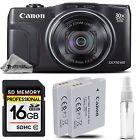 Canon PowerShot SX710 HS Wi-Fi/NFC Digital Camera 20MP 30x Optical Zoom + 16GB