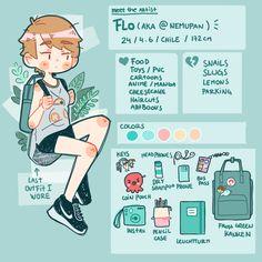 Meet the artist by nemupan Cute Art Styles, Meet The Artist, Art Challenge, Copics, Character Design Inspiration, Pretty Art, Anime Chibi, Aesthetic Art, Cute Drawings