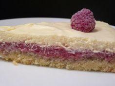Gâteau amandes-framboises mascarpone
