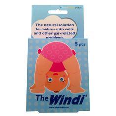 The Windi Solução para Desconforto de Cólicas e Gases para Bebês - 5 peças