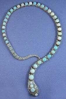 Phillips Diamond and Opal Snake Necklace. Phillips Diamond and Opal Snake Necklace. Snake Necklace, Snake Jewelry, I Love Jewelry, Opal Necklace, Opal Jewelry, Jewelry Box, Jewelery, Jewelry Accessories, Fine Jewelry