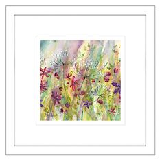 Catherine Stephenson - Summertime Meadow 1 Framed Print, 44 x 44cm