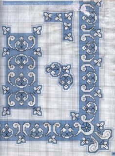 Gallery.ru / Фото #13 - Assisi - 777m Russian Embroidery, Blackwork Embroidery, Modern Embroidery, Diy Embroidery, Cross Stitch Embroidery, Embroidery Patterns, Cross Stitch Boarders, Just Cross Stitch, Cross Stitch Charts