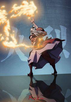 Roku: maestro fuego, avatar: el ultimo maestro aire