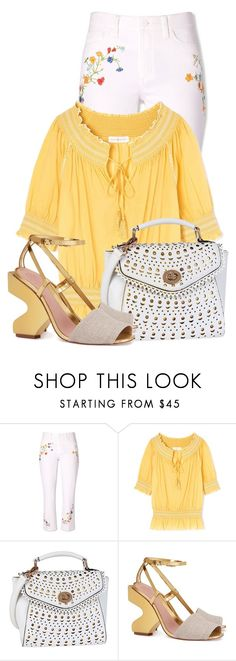 """""""Untitled #16726"""" by nanette-253 ❤ liked on Polyvore featuring Tory Burch"""