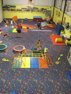 Kids Gym is a fully equipped gym that offers gymnastics, summer camps, private lessons, cheerleading, overnight sessions and just plain fun! They also have a whole gym geared for preschool children!