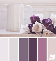 still tones color palettes from Design Seeds Colour Pallette, Colour Schemes, Color Combos, Color Patterns, Purple Palette, Purple Color Palettes, Design Seeds, Color Balance, Colour Board
