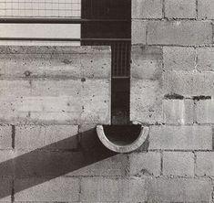 Casa Bianca, Riva San Vitale, Ticino, Switzerland (1973) | Mario Botta Detail Architecture, Landscape Architecture, Interior Architecture, Brick Detail, Tiny House Cabin, Construction, Architectural Elements, Mario, Deco