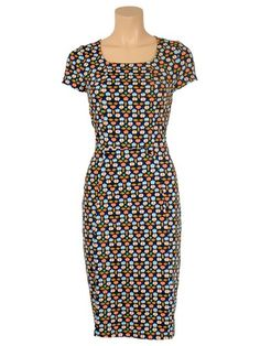 Cute fitted Dress from King Louie, looking cool and feeling comfortable!