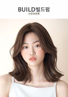 • 2019 여자중간머리스타일 BUILD 빌드펌으로 시선강탈 해봐요~❤️ : 네이버 블로그 Medium Hair Cuts, Medium Hair Styles, Curly Hair Styles, Asian Short Hair, Asian Hair, Cut My Hair, Her Hair, Korean Hair Color, Middle Hair