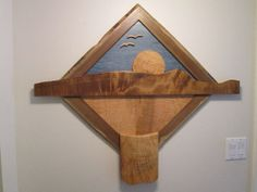 Sunrise Over The Waterfall by WoodWallWonders on Etsy, $425.00 Wood Sculpture, Sculptures, Bottle Opener, Sunrise, Waterfall, Wall Art, Unique Jewelry, Handmade Gifts, Etsy