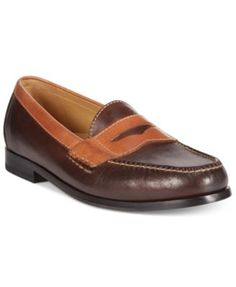 5fb096c3d3d Cole Haan Two-Tone Pinch Penny Loafers   Reviews - All Men s Shoes - Men -  Macy s