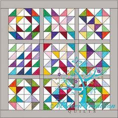 Modern Tradition Quilts: Charm Square Sampler Quilt Along--Fabric Requirements