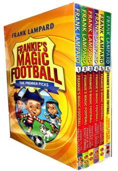 Frankies Magic Football Series 1- 6 Book Set by Frank Lampard   #Football #Book #ChildrensBook #MagicFootball #Lampard #Frank  http://www.snazal.com/frankies-magic-football-series-1-6-books-collection-set-by-f--DEALMAN-U5-FrankLampard-6bksS1.html