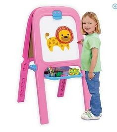 *hot* Crayola Pink Double Easel Only $15 (reg. $40