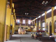 Estação Ferroviária de Nazaré ( Salão de embarque) - Bahia - Brasil -