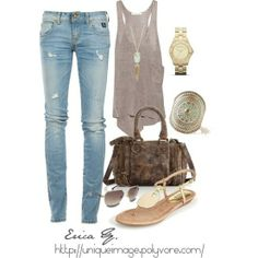 Summer casual outfit.. =)