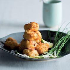 Taste Mag | Roast cauliflower croquettes @ http://taste.co.za/recipes/roast-cauliflower-croquettes/