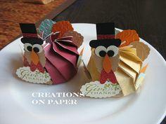 Creations on Paper: Thanksgiving Turkey Blossom Box