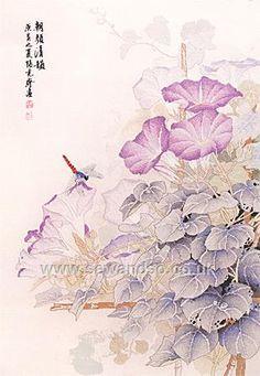Buy+Bursting+Flowers+in+the+Morning+Cross+Stitch+Kit+Online+at+www.sewandso.co.uk
