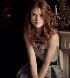 Everyone this is my future BFF, Rose Leslie. Rose, this is everyone!