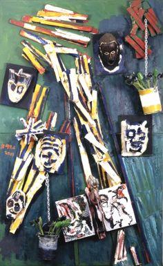 'Market Square' (2003) by Karel Appel