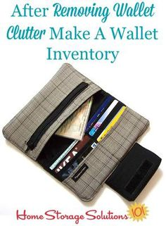 How To Declutter Wallet & Keep It That Way