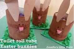 Baby Bunny Candy Holders   AllFreeKidsCrafts.com