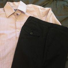 NWOT Men's Marc Anthony Black Dress Pants NWOT Marc Anthony Slim Fit Black Dress Pants. 33x32 Marc Anthony Pants Trousers