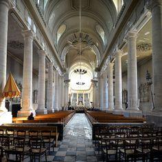 Avranches, Nef de la basilique Saint-Gervais. Basse Normandie
