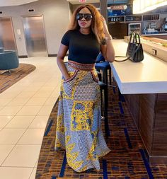 Woke up feeling humble and grateful for today knowing every pain we endure today shall form part of our testimony tomorrow African Maxi Dresses, Latest African Fashion Dresses, Ankara Fashion, African Traditional Wear, English Dress, Unique Ankara Styles, African Print Skirt, African Wear, Dress Skirt
