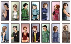 Heroes From RE by Aitia on DeviantArt
