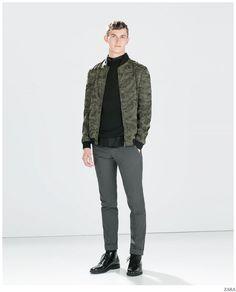 Zara Previews Trendy Spring 2015 Men's Styles
