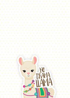 I found several super cute llama iPhone Wallpapers for the llama lover. these wallpapers are llama-mazing! Iphone Wallpaper 10, Animal Wallpaper, Wallpaper Backgrounds, Alpacas, No Drama Lama, Drama Drama, Llama Birthday, Cute Llama, Planner