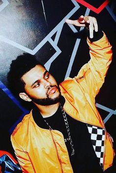 The Weeknd - Celebrates during an album after party