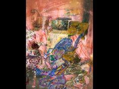 #maha_masoud 's art clip act 4 #ipad #instagram #movie #maha_masoud 's journal entry of self portrait  #ipad #draw #photo #fabric #collage #mixmedia #self #portrait #painting  #at_maha_masoud_art_page  http://www.facebook.com/mahalight1969