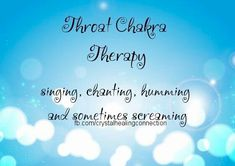 Throat Chakra Therapy