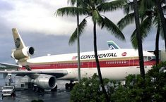 Gorgeous shot of Continental DC-10 at Honolulu, I personally like that old truck on the left!!!