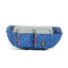 Herschel hip packs are an adorable option in many different colors and patterns. They're a bit bigger than a traditional fanny pack - meaning they can hold ALL of your teacher must-haves!
