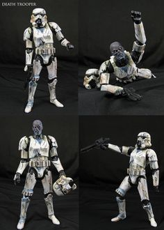 Deathtroopers custom action figure - Star Wars - John Mallamas