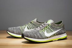 921d0eb1d92 Cheapest Mens Sneaker Nike Air Zoom Flyknit Streak 6 Dark Gray Flash Lime  White Shoe Dark