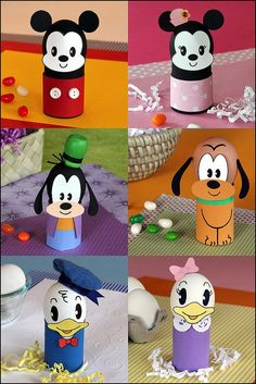 Idea for Easter egg competition Egg Crafts, Preschool Crafts, Easter Crafts, Disney Diy, Disney Crafts, Disney Easter Eggs, Easter Egg Designs, Toilet Paper Roll Crafts, Easter Activities
