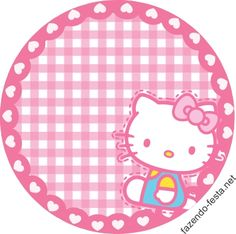 Hello Kitty Lindo Mini Kit para Imprimir Gratis.