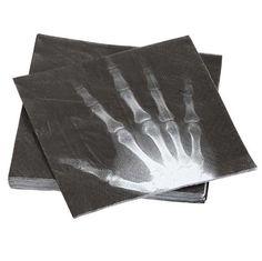 X-Ray Printed Napkins