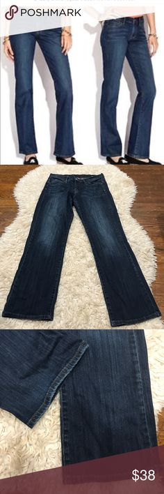 Lucky Brand size 14 dark denim Size 14 length 32, lucky brand boot cut.  Great jeans for fall and winter with all your favorite heeled boots or flats! EUC Lucky Brand Jeans Boot Cut