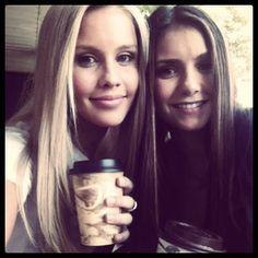 Claire Holt & Nina Dobrev #TVD